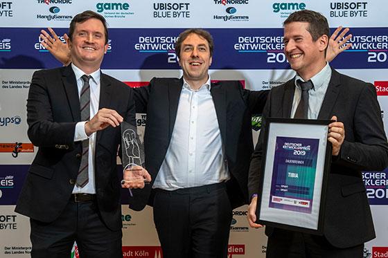 Tibia vence o German Developer Award