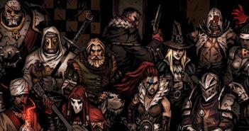 darkest dungeon butchers circus keyart banner
