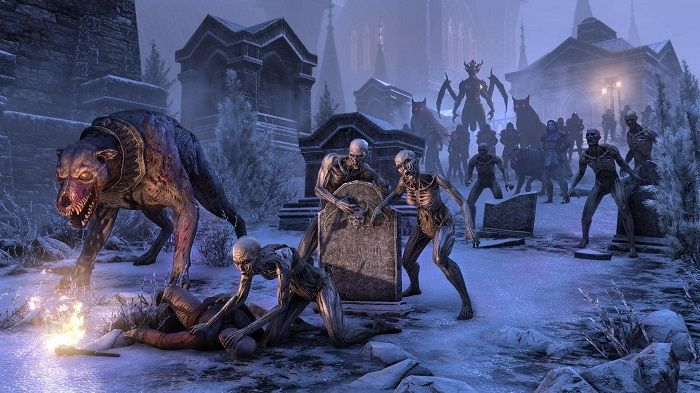 Elder Scrolls Online - Developers Talk New Stonethorn Dungeon, Castle Thorn