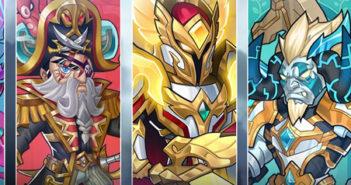 brave dungeon immortal legend heroes banner