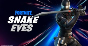 G.I. A colaboração de Joe no Fortnite inclui uma pele de Snake Eyes e uma figura de ação