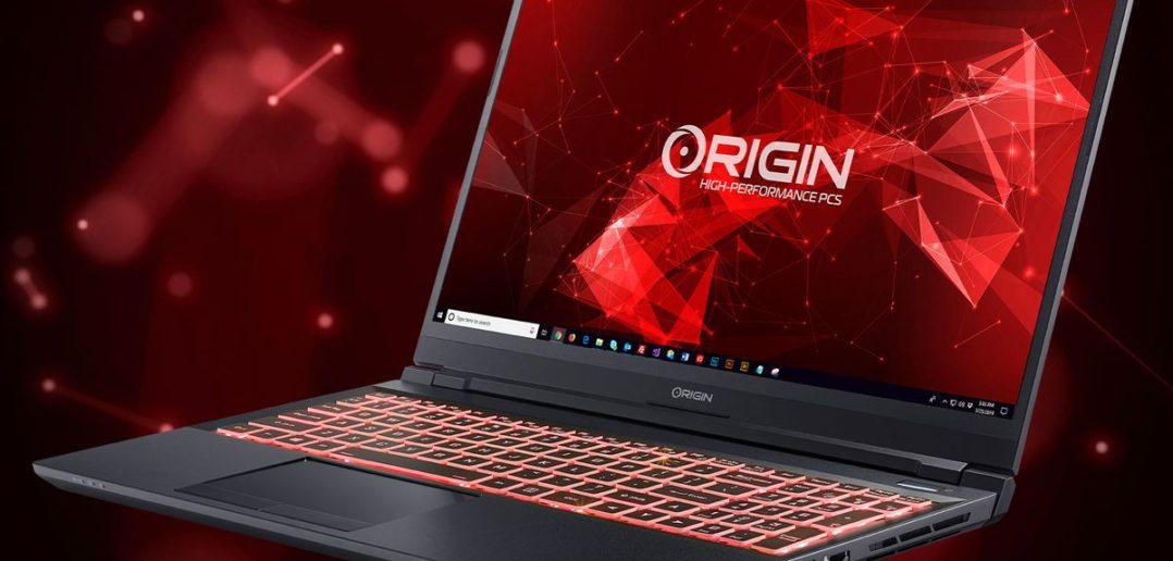 Origin atualiza EVO15-S e EVO17-S com novas GPUs da série RTX 3000
