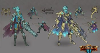 Torchlight 3 Teases a New Class - The Cursed Captain