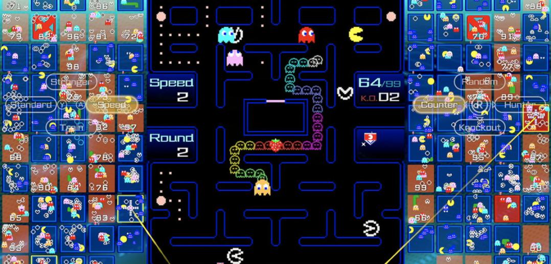 Pac-Man 99 é um novo jogo de batalha real para o Switch