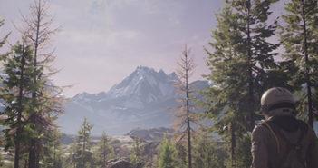 bandeira das montanhas dos pinheiros do icaro
